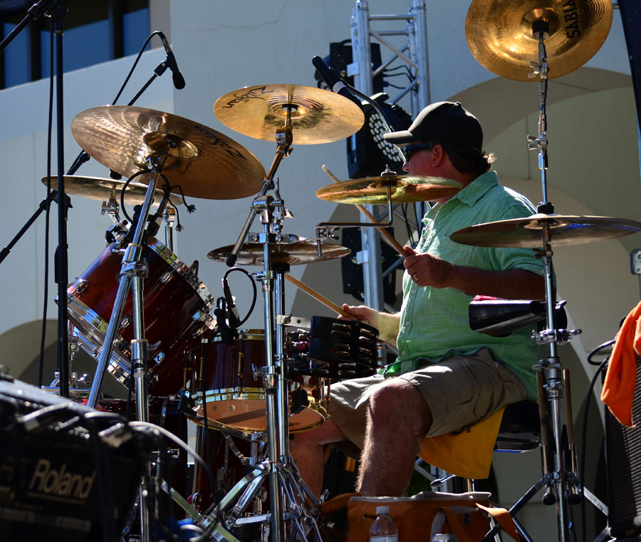Public Eye Band, based in Northern California-drummer Jim H.