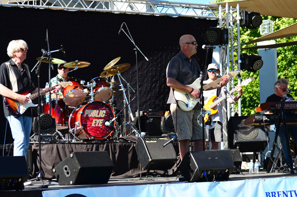 Public Eye plays Brentwood's Harvest Fest