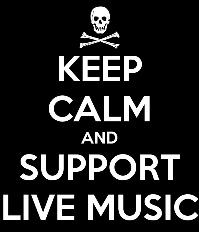 Public Eye Band, based in Northern California-keep-calm-and-support-live-music