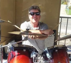 Jim Hamilton, drummer for Public Eye